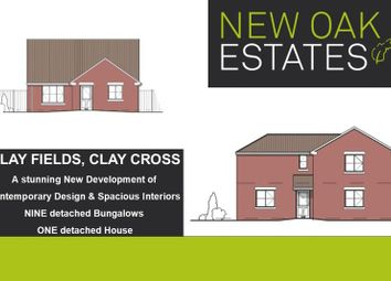 Thumbnail 3 bed detached bungalow for sale in Clay Fields View, Clay Cross, Chesterfield