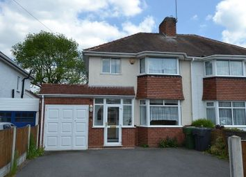 Thumbnail 3 bed semi-detached house for sale in Meadowfield Road, Rubery, Birmingham