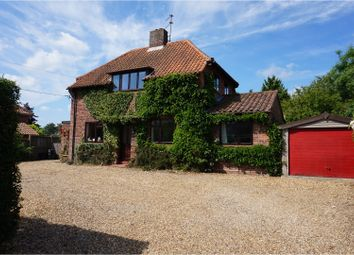 Thumbnail 4 bed detached house for sale in Rectory Road, Norwich