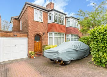 Thumbnail 3 bed semi-detached house for sale in Derwent Drive, Purley