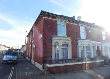 Thumbnail 3 bedroom end terrace house for sale in Cornwall Road, Portsmouth