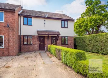 Thumbnail 2 bed terraced house for sale in Birch Close, North Walsham, Norfolk