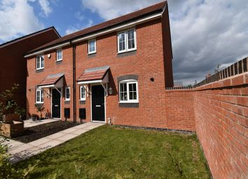 Thumbnail 2 bed semi-detached house for sale in 19 Blockley Road, Hadley, Telford