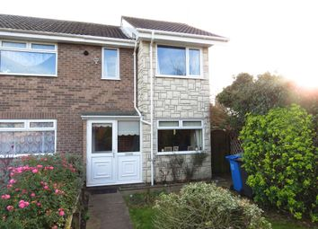 Thumbnail 2 bed end terrace house for sale in Catchpole Close, Kessingland, Lowestoft