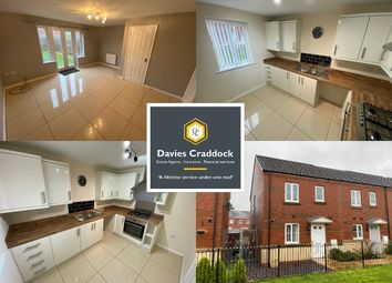 Thumbnail 3 bed end terrace house to rent in Rhodfa Delme, Llanelli