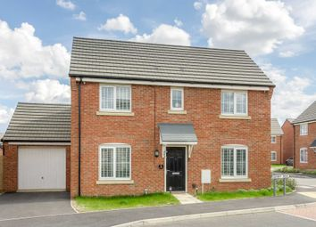 Thumbnail 3 bed detached house for sale in Downy Drive, Northampton