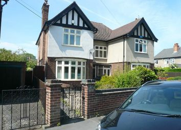 Thumbnail 3 bed semi-detached house to rent in Oxford Road, West Bridgford, Nottingham