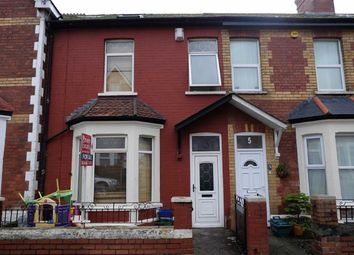 Thumbnail 4 bed terraced house for sale in Amherst Crescent, Barry, Vale Of Glamorgan