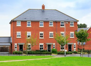 Thumbnail 4 bed town house for sale in Honeysuckle Square, Wymondham