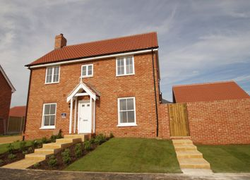 Thumbnail 4 bedroom link-detached house for sale in Church Hill, Saxmundham