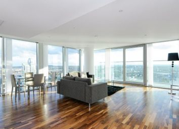 Thumbnail 3 bedroom property to rent in Landmark East, The Landmark Building, Canary Wharf, London