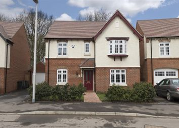 Thumbnail 4 bed detached house for sale in Adderley Avenue, Nuneaton