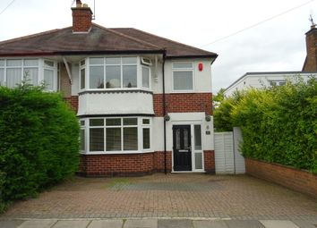 Thumbnail 3 bed semi-detached house for sale in Stoney Road, Cheylesmore, Coventry