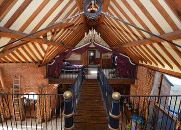 Thumbnail 6 bed barn conversion for sale in Church Road, Ellough, Suffolk