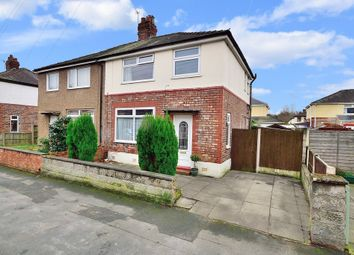 Thumbnail 3 bed semi-detached house for sale in Ash Grove, Latchford, Warrington
