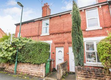 Thumbnail 2 bed terraced house to rent in Crossman Street, Sherwood, Nottingham