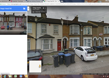 Thumbnail 1 bed flat to rent in Nags Head Road, Ponders End, Enfield