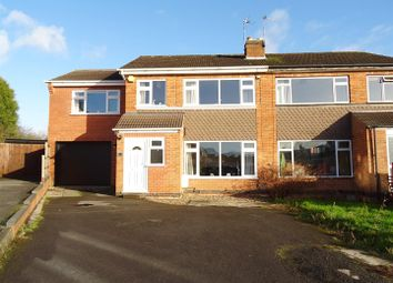 Thumbnail 4 bed semi-detached house for sale in Paterson Place, Shepshed, Leicestershire