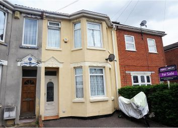 Thumbnail 3 bed terraced house for sale in Wilton Road, Southampton