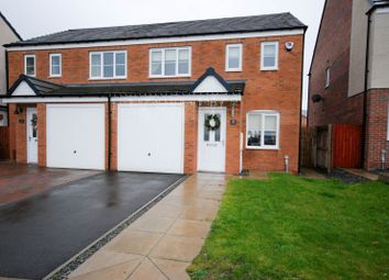 Thumbnail 3 bedroom semi-detached house for sale in Corning Road, Sunderland