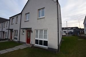 Thumbnail 2 bed end terrace house to rent in 52 Mugiemoss Road, Bucksburn Aberdeen