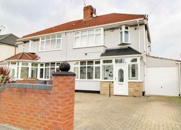 Thumbnail 4 bed semi-detached house for sale in Gladstone Avenue, Broadgreen, Liverpool