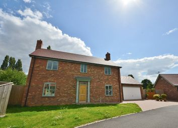 Thumbnail 4 bed detached house to rent in Thurtells Close, Yoxford, Saxmundham