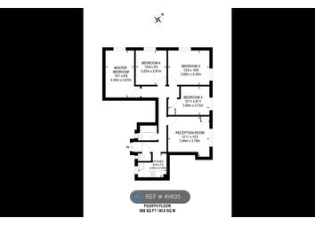 Thumbnail 4 bed flat to rent in Whitworth House, London