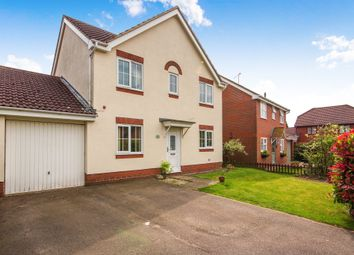 Thumbnail 4 bed detached house for sale in Eller Drive, West Winch, King's Lynn