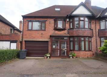 Thumbnail 5 bed semi-detached house for sale in Cherry Orchard Road, Handsworth Wood, Birmingham