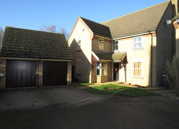 Thumbnail 5 bed detached house for sale in Great Northern Close, March