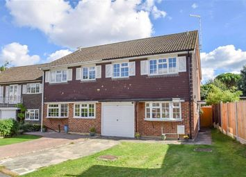 Thumbnail 3 bed semi-detached house for sale in Foxwood Place, Leigh-On-Sea, Essex
