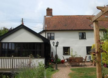 Thumbnail 2 bed cottage for sale in The Street, Hacheston, Woodbridge