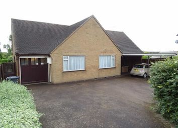 Thumbnail 3 bed detached bungalow for sale in Balmoral Road, Earl Shilton, Leicester