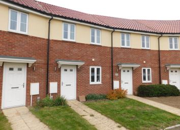 Thumbnail 2 bed terraced house for sale in River Way, Great Blakenham, Ipswich