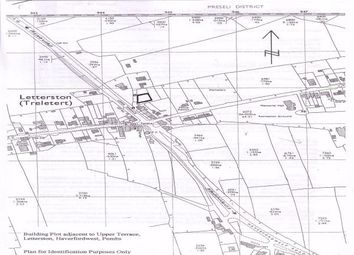 Thumbnail Land for sale in Upper Terrace, Letterston, Haverfordwest, Pembrokeshire