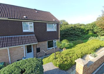 Thumbnail 3 bed end terrace house for sale in Winnow Close, Staddiscombe, Plymouth.