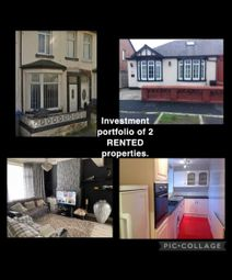 Thumbnail 5 bed bungalow for sale in Chislehurst Avenue, Blackpool
