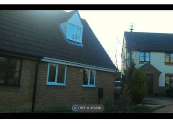 Thumbnail 2 bed semi-detached house to rent in Nelson Close, Crownhill, Milton Keynes