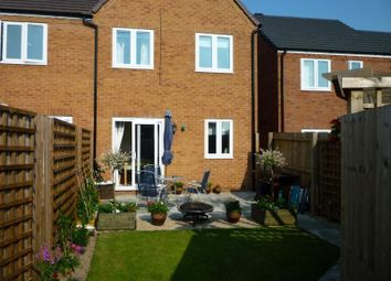 Thumbnail 3 bed semi-detached house to rent in Mandir Close, Oswestry