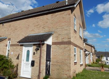 Thumbnail 1 bed end terrace house to rent in Shotley Close, Felixstowe