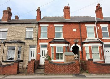 Thumbnail 2 bed terraced house for sale in Dovecote Road, Eastwood, Nottingham