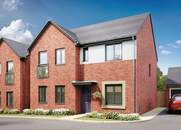 "Thumbnail 4 bed detached house for sale in ""The Mayfair"" at Llantrisant Road, Capel Llanilltern, Cardiff"