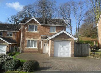 Thumbnail 4 bed detached house for sale in Maes Y Cornel, Rhos, Pontardawe.