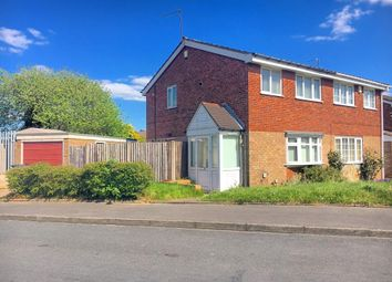 Thumbnail 3 bedroom semi-detached house for sale in Millersdale Drive, West Bromwich, West Midlands