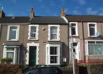 Thumbnail 4 bedroom terraced house to rent in Rhyddings Park Road, Brynmill, Swansea.