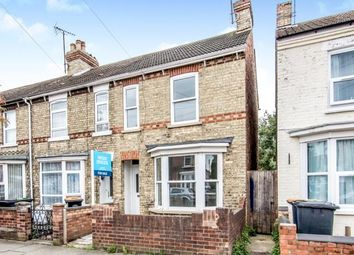 Thumbnail 3 bed end terrace house for sale in Gratton Road, Bedford, Bedfordshire