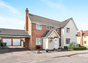 Thumbnail 3 bedroom semi-detached house for sale in Chestnut Road, Tasburgh, Norwich
