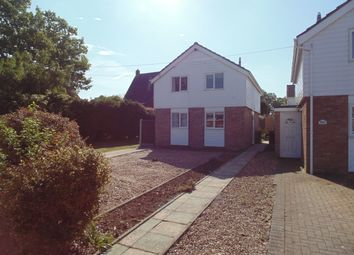 Thumbnail 3 bed detached house to rent in Rectory Road, Dickleburgh, Diss
