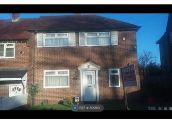 Thumbnail 2 bed semi-detached house to rent in Venwood Rd, Manchester